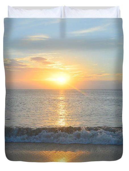 May 23 Sunrise Duvet Cover