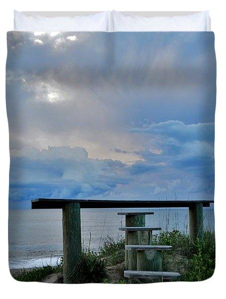 May 7th Sunrise Duvet Cover