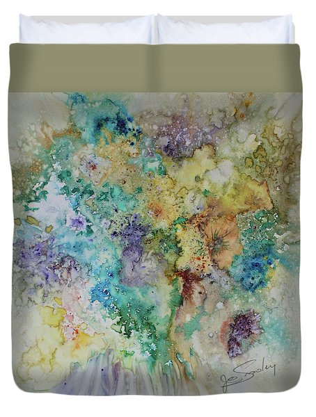 May Flowers Duvet Cover
