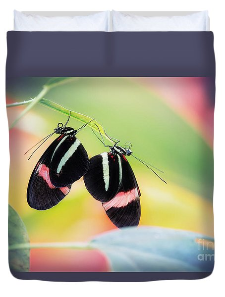 May I Have This Dance? Duvet Cover