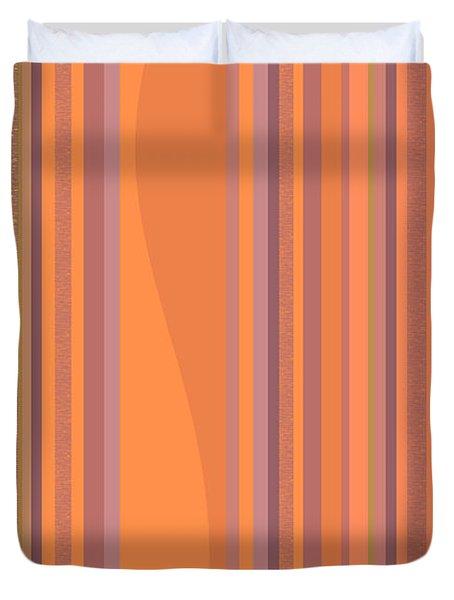 May Morning Vertical Stripes Duvet Cover