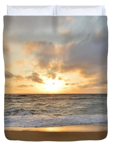 May Sunrise In Obx Duvet Cover