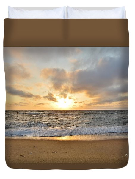 May Sunrise In Obx Duvet Cover