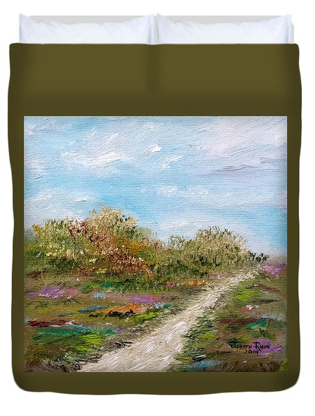 May The Road Rise Up To Meet You Duvet Cover