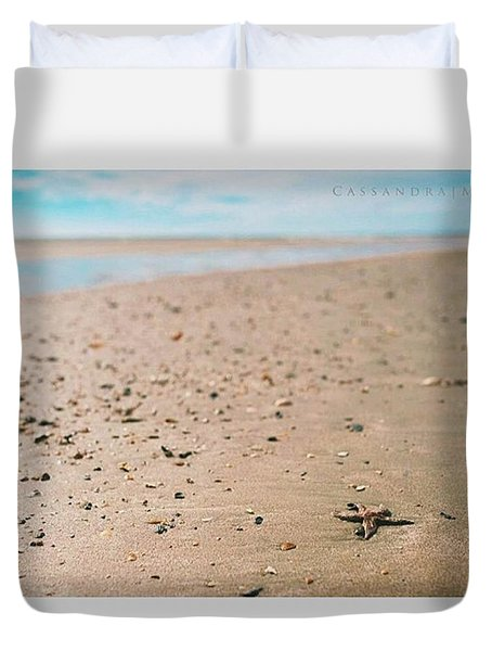 may You Always Have A Shell In Your Duvet Cover