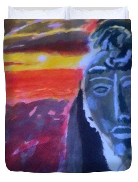 Maya Sunset Duvet Cover