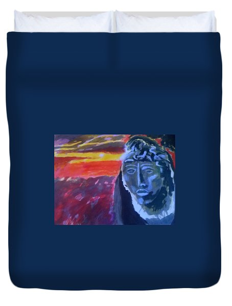 Maya Sunset Duvet Cover