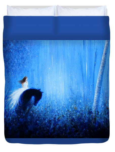 Maybe A Dream Duvet Cover by Kume Bryant