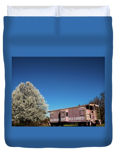 Mayberry Express Duvet Cover
