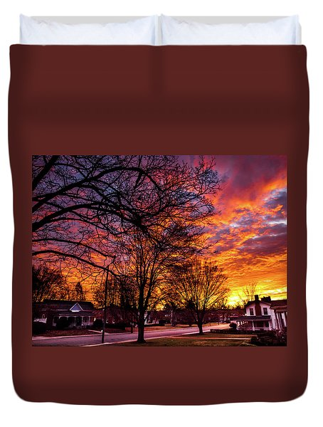 Mayberry Sunrise Duvet Cover
