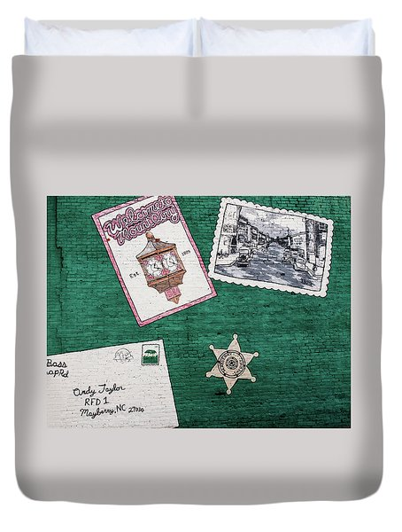 Mayberry Wall Duvet Cover