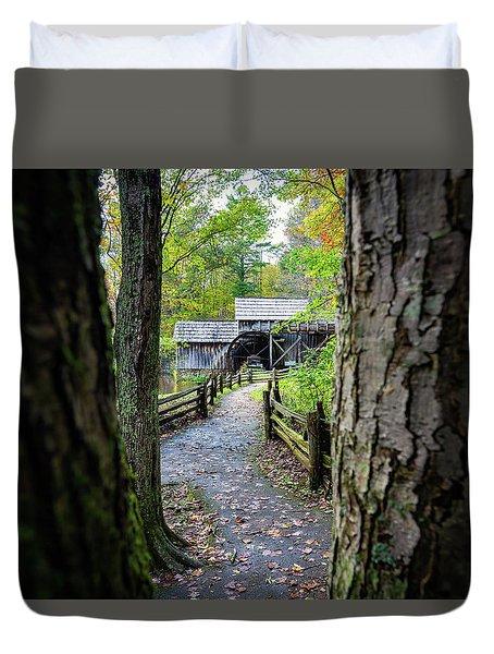 Maybry Mill Through The Trees Duvet Cover