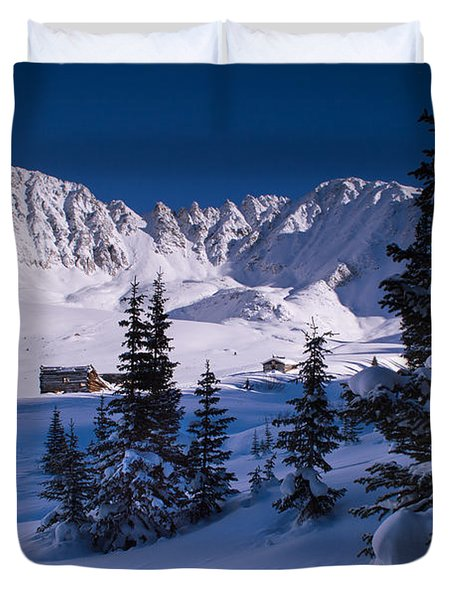 Mayflower Gulch Valley Duvet Cover