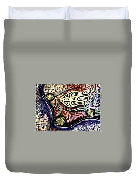 Mayim Duvet Cover by Luke Galutia