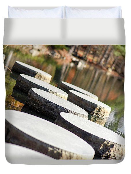 Maymont Stepping Stones Duvet Cover
