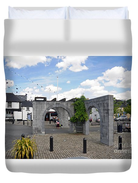 Maynooth Ireland Duvet Cover by Cindy Murphy - NightVisions