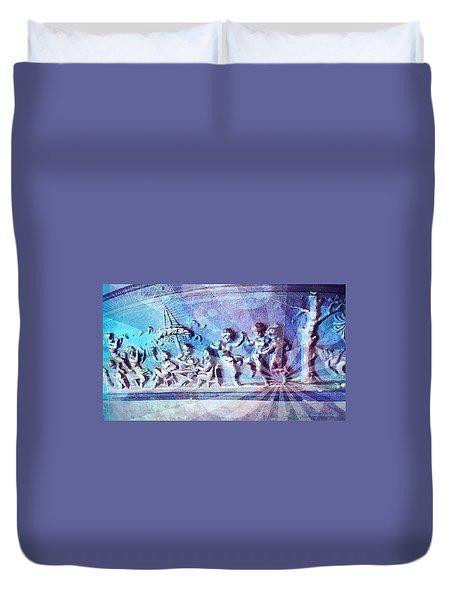 Maypole Dance  Duvet Cover