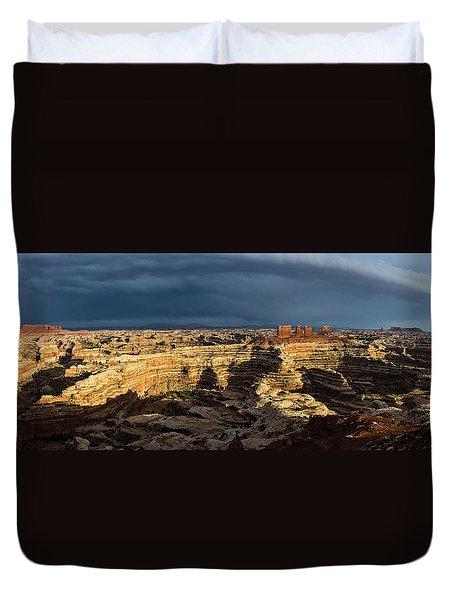 Maze Panorama Duvet Cover
