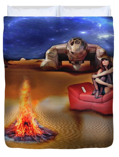 Mazzy Stars Duvet Cover by Michael Cleere