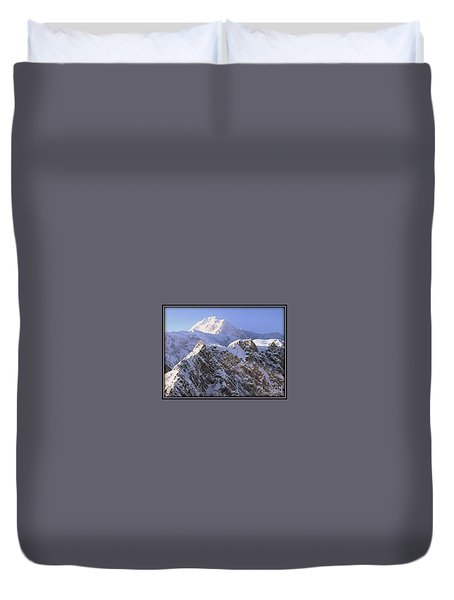 Mc Kinley Peak Duvet Cover