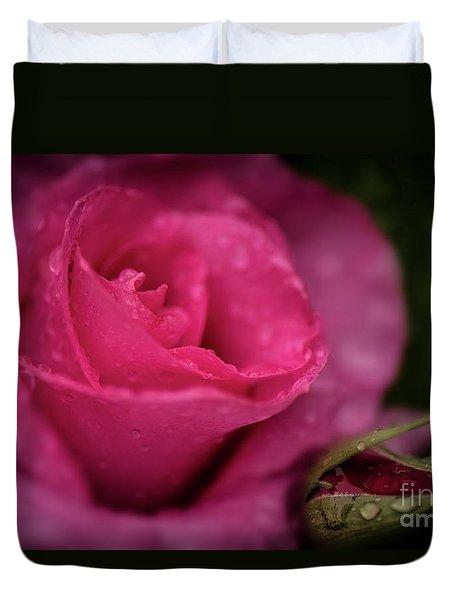 Mccartney Rose Duvet Cover by Judy Wolinsky