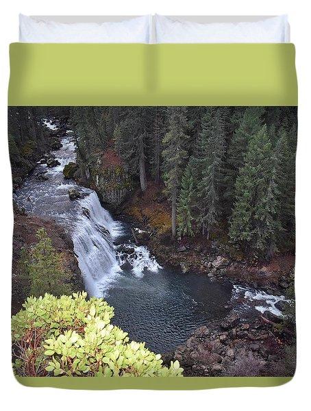 Mccloud River Falls Duvet Cover