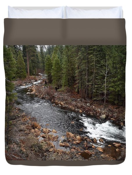 Mccloud River Duvet Cover