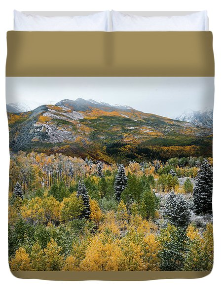 Mcclure Pass - 9606 Duvet Cover