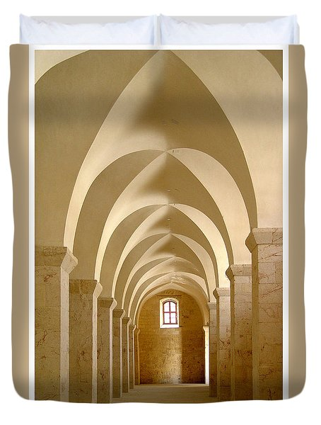 Mcdermott Great Mosque Aleppo Duvet Cover