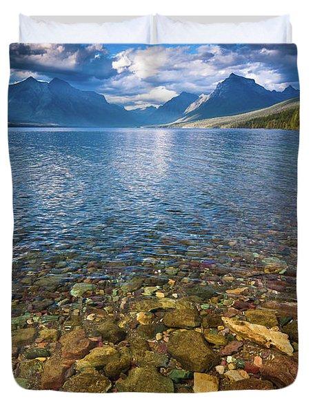 Mcdonald Lake Colors Duvet Cover