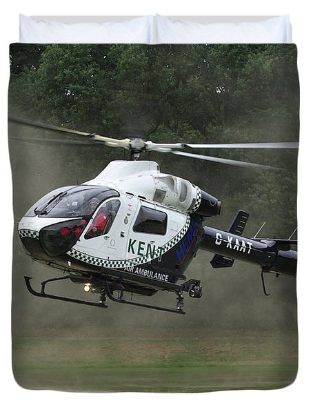 Duvet Cover featuring the photograph Mcdonnell Douglas Md-902 Explorer  by Tim Beach