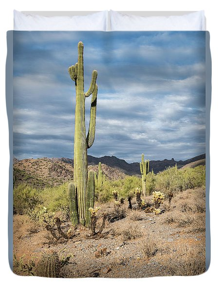 Mcdowell Cactus Duvet Cover