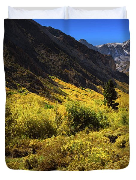 Mcgee Creek Alive With Color Duvet Cover