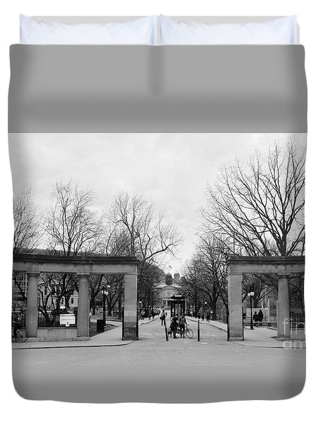 Mcgill Gates Duvet Cover by Reb Frost