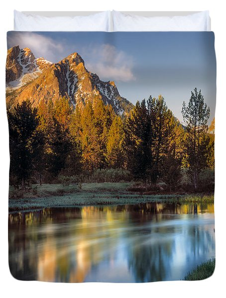 Mcgown Peak Sunrise  Duvet Cover