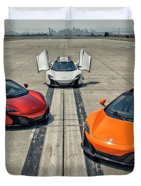 #mclaren #650s #party Duvet Cover