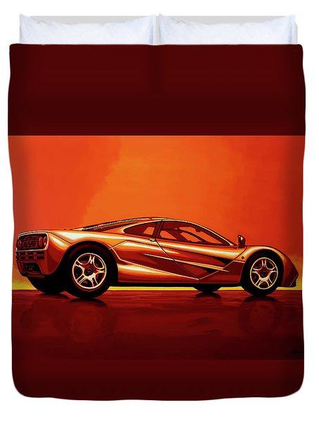 Mclaren F1 1994 Painting Duvet Cover