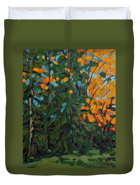 Mcmichael Forest Wall Duvet Cover