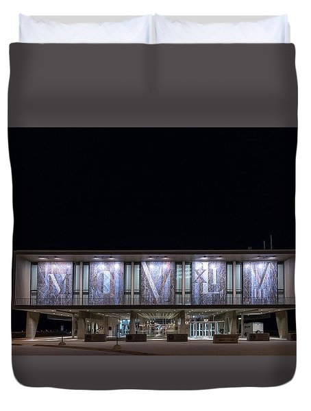 Duvet Cover featuring the photograph Mcmxliviii by Randy Scherkenbach