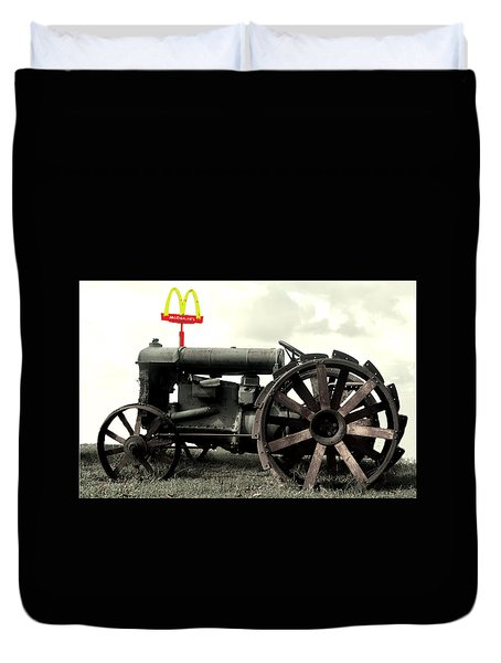 Mctractor Big Mac Duvet Cover