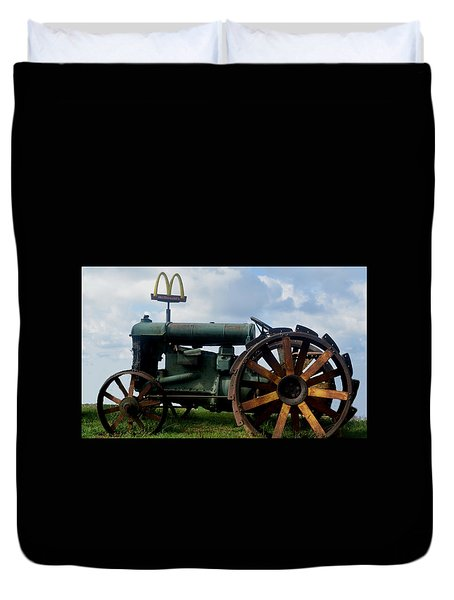 Mctractor Duvet Cover by Gary Smith