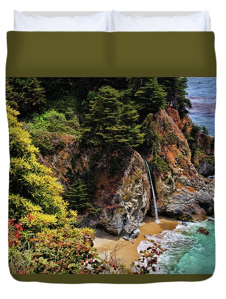 Mcways Falls 3 Duvet Cover by Judy Vincent
