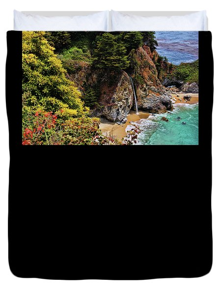 Mcway Falls 3 Duvet Cover by Judy Vincent