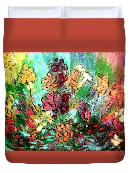 Meadow Garden Duvet Cover
