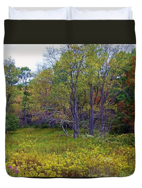 Meadow Of Gold Duvet Cover