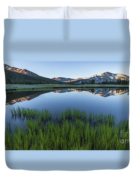 Meadow Reflections  Duvet Cover