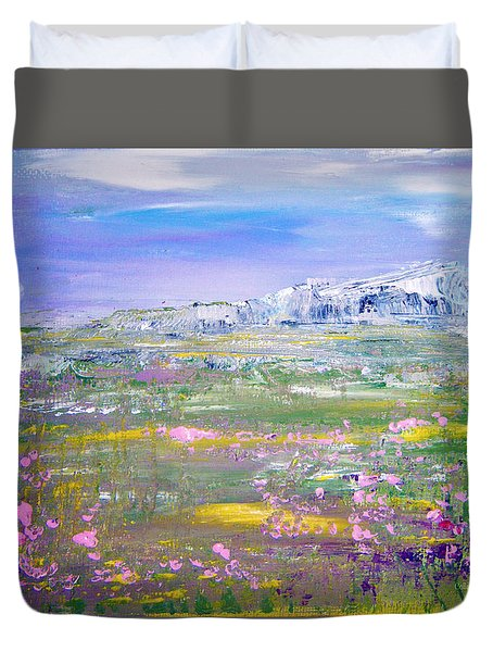Meadow Sky By Colleen Ranney Duvet Cover
