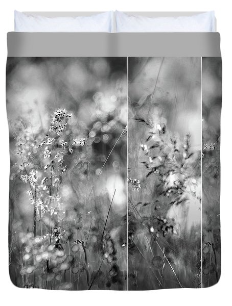 Meadowgrasses Duvet Cover by Linde Townsend