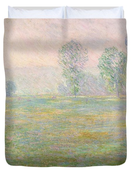 Meadows In Giverny Duvet Cover by Claude Monet
