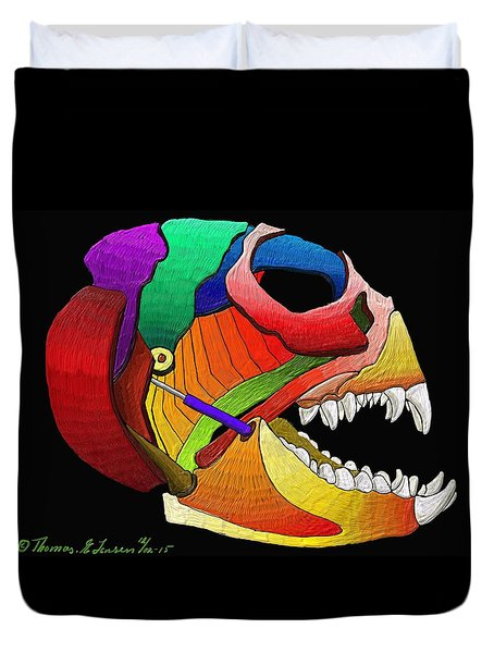 Mechanic Fishhead Duvet Cover